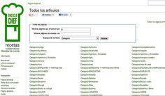 EncicloChef, wiki en español con cerca de 8000 sabrosas recetas