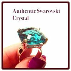 I just discovered this while shopping on Poshmark: HOST PICKAuthentic Swarovski Crystal Ring. Check it out!  Size: 55