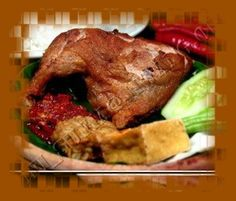 Resepi Ayam Penyet