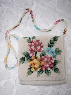 Gorgeous Handmade WALBORG All Beaded Purse  by VintageMagnifique