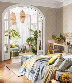 With 21 different living room ideas you will be motivated to make subtle upgrades to your own room or explore lively modern living room decoration ideas that will certainly enchant guests. Cosy Living, Boho Living Room, Home And Living, Living Room Decor, Modern Living, Living Rooms, Home Bedroom, Bedroom Decor, Bedroom Alcove