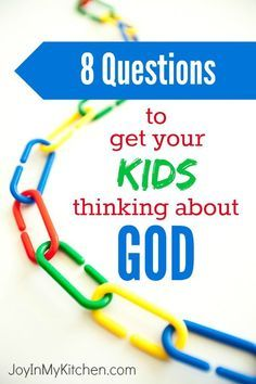 Help your kids learn to see God at work by introducing these questions into your family discussion. Lessons For Kids, Bible Lessons, Teaching Kids, Kids Learning, Learning Activities, Kids And Parenting, Parenting Hacks, Bible Study For Kids, Kids Bible