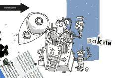 #Illustration zur Ausschreibung mit dem Thema #Rakete.