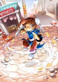 Chun Li Mini by LAI6.