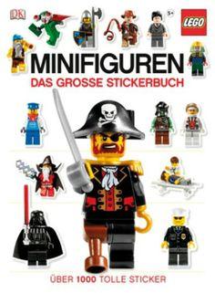 LEGO Minifiguren  Das große Stickerbuch  http://www.meinspielzeug24.de/lego-minifiguren-das-grosse-stickerbuch  #Unisex #Bücher, #SpieleBasteln