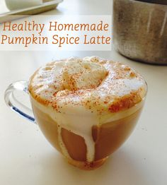 Don't want to side of chemicals with your pumpkin spice latte? Try this homemade recipe.