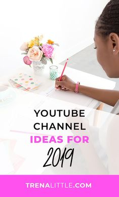 YouTube Channel Ideas for 2019 | Trena Little | Stuck on what to film for YouTube? I've got you! In this blog post, I'll be sharing loads of YouTube video ideas that you will get you inspired to take action and make YouTube a big part of your marketing efforts in 2019! #youtube #videomarketing Youtube Tags, You Youtube, Content Tools, Content Media, Youtube Vloggers, Web Design, Business Video, Business Tips, Video Advertising