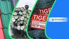 Tiger Nails, Iron Sheet, Expanded Metal, Round Bar, Roofing Systems, Barbed Wire, African