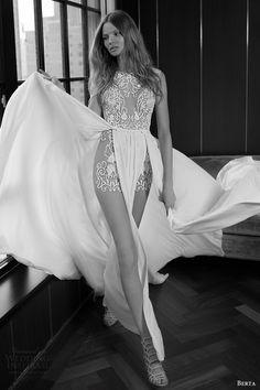 BERTA BRIDAL fall 2016 sleeveless illusion jewel neck wedding dress aline double slit overskirt (16 106) mv #bridal #wedding #weddingdress #weddinggown #bridalgown #dreamgown #dreamdress #engaged #inspiration #bridalinspiration #weddinginspiration #weddingdresses