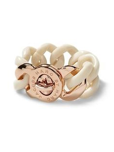 Marc by Marc Jacobs Exploded Katie Bracelet | Piperlime This rose gold accented bracelet will jazz up any outfit