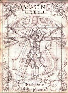 assassin's creed:EZIO art by Ddiocles.deviantart.com