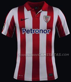 Todo Sobre Camisetas  OFICIAL  Equipaciones Nike para el Athletic Club de  Bilbao 2013  50589397c4850