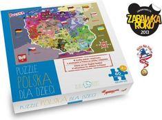 Zuzutoys Puzzle Polska Dla Dzieci Zz4054 - Ceny i opinie - Ceneo.pl