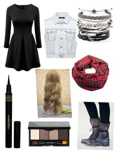 Untitled #219 by lia-directionesse on Polyvore featuring polyvore, fashion, style, Forever New, Free People, Domo Beads, Napoleon Perdis and Bobbi Brown Cosmetics