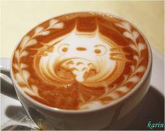 latte art totoro voisin tonari miyazaki cute anime streaming online manga tv legal gratuit