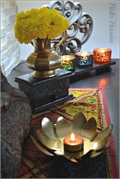 Buddha Décor, Buddha Vignettes, Global Décor, Indian home décor, Indian Inspired Decor,