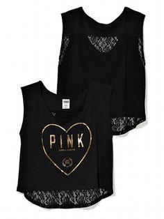 Victoria's Secret PINK NEW! Lace Back Dolman #VictoriasSecret http://www.victoriassecret.com/pink/tops/lace-back-dolman-victorias-secret-pink?ProductID=85910=OLS?cm_mmc=pinterest-_-product-_-x-_-x