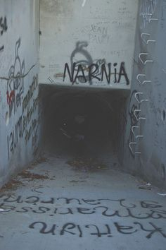 Follow me to Narnia.