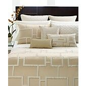 CLOSEOUT! Hotel Collection Bedding, Maze Collection
