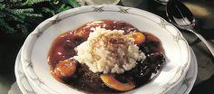 Sekahedelmäkiisseli Acai Bowl, Beef, Dining, Breakfast, Ethnic Recipes, Food, Acai Berry Bowl, Meat, Morning Coffee