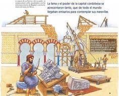 La España musulmana contaba con la importante herencia de las ciudades romanas, pero fueron muchas las nuevas ciudades creadas en al-Anda...