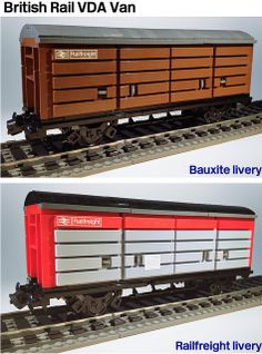 Lego VDA Van Wagon (revised)   Flickr - Photo Sharing!