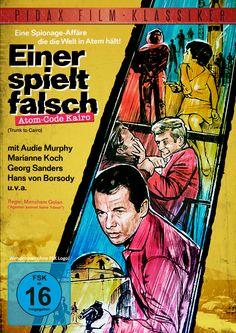 Spannender Eurospy-Thriller vom Feinsten mit Audie Murphy, Marianne Koch und Hans von Borsody