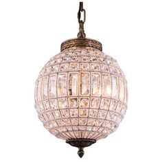 Olivia 1 Light Globe Pendant