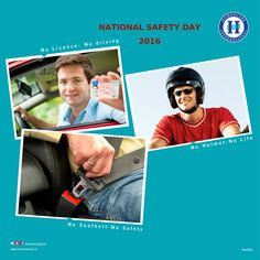 Due to large number of accidents and incidents, our government has started conducting campaigns on accident prevention. Finally after many sessions the National Safety Day was set up on 4th March 1966.