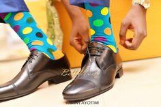Colored socks for men