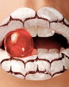 #beauty #woman #lips #makeup #style