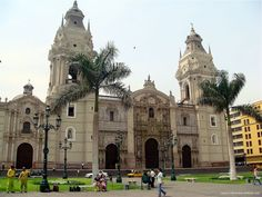 Lima, Peru's largest city, founded in the 1500s by conquistador Francisco Pizarro. Ghirardelli left for Uruguay when he was 20 years old, then sailed around Cape Horn to Peru where he became a coffee and chocolate merchant.