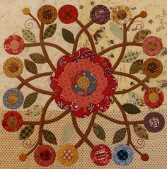 Rambling Ways Quilt Maypole/ Pine Valley Quilts