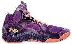 When Stephen Curry takes the court as a starter in this weekend's NBA All-Star Game, the sharpshooter will be wearing this all-new colorway of the Under Armour Anatomix Spawn. Cheap Under Armour, Under Armour Shoes, Stephen Curry Shoes, Shoe Gallery, Spawn, Shoe Sale, All Star, Basketball, Sneakers