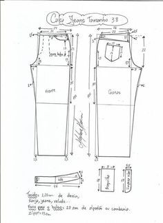 jeans - cintura media-38 Jean