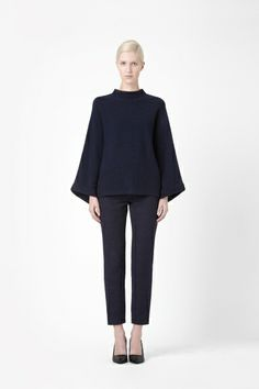COS wide-cut wool jumper