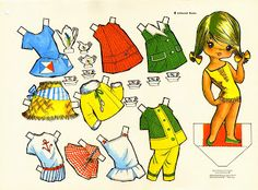 Victoria Recortables paper doll from Spain / flickr.com * 1500 paper dolls at International Paper Doll Society by artist Arielle Gabriel ArtrA QuanYin5 Linked In QuanYin5 Twitter *