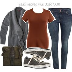 Isaac Inspired Plus Sized Outfit