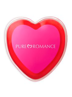 Pure Romance Reusable Warming Heart Messager Soothe your partner's body, then bring it close to yours with this simple-to-use heated massage pack. At 129° F, the only thing hotter is your desire!