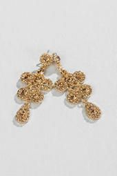 Tulane Chandelier Earrings  Gorgeous gold dangle earrings to dress up and class up any outfit for the Holidays!
