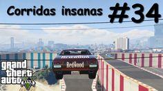 GTA V - Corridas insanas - Manobras e Crânios Rachados #34