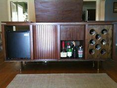 retro wine bar