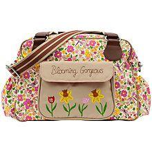Buy Pink Lining Blooming Gorgeous Cottage Garden Print Tote Changing Bag, Multi Online at johnlewis.com