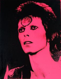 Russell Young + Mick Rock silkscreen on canvas