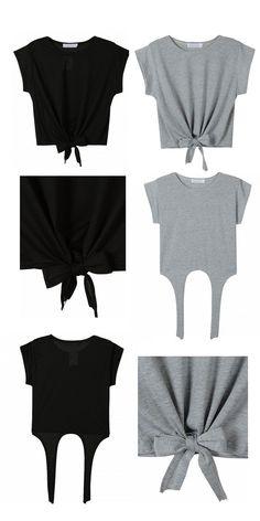 Original idea para customizar tu ropa. #reciclar #DIY #diyshirts