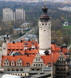 Leipzig, Germany: The new city hall                                                                                                                                                                                 Más