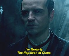 The Abominable Bride <- When a character referd to himself as his nemesis did in the book #Sherlock #Moriarty #Book