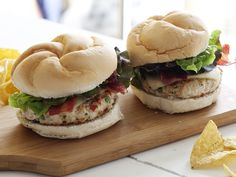 Southwest Turkey Burgers recipe from Rachael Ray via Food Network