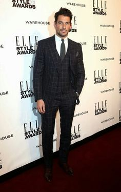 David at the Elle Style awards 2014