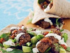 Wraps - mexican style